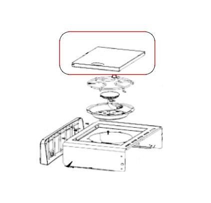 Napoleon Edelstahl Deckel für Sizzle Zone Rogue Modelle inkl. Deckelgriff & Magneten
