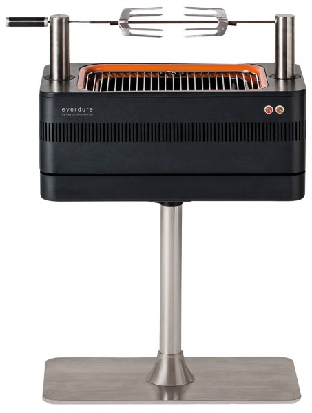Everdure Fusion Holzkohlegrill Frontansicht