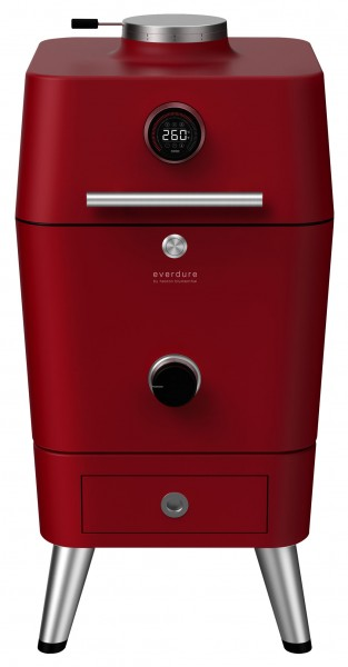 Everdure 4K Outdoor Ofen Red Frontansicht