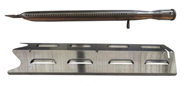 Outdoorchef Ersatzbrenner + Flammabdeckung Set für 3 & 4 Brenner Modelle