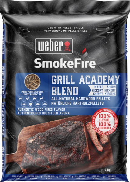 Weber SmokeFire Grill Academy Blend - 100% natürliche Holzpellets