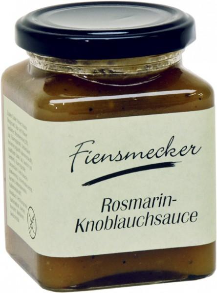 Rosmarin Knoblauch Sauce Fiensmecker