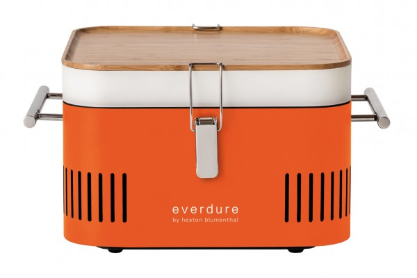 Everdure CUBE Holzkohlegrill, Orange