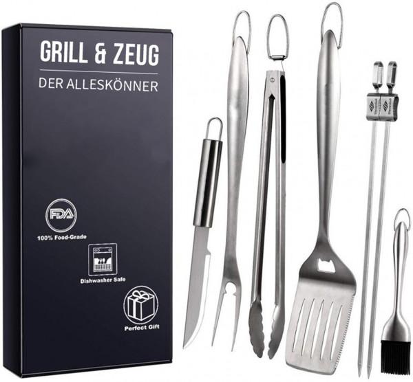 Grill & Zeug BBQ Set 6-tlg.