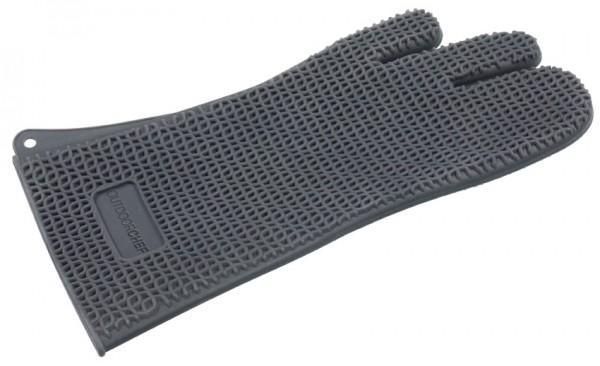 OutdoorCHEF 3-Finger Silikon Handschuh schwarz