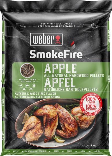 Weber SmokeFire Apfelholz - 100% natürliche Holzpellets